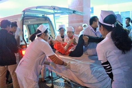 Một công nhân ngộ độc dạng nặng nhập viện