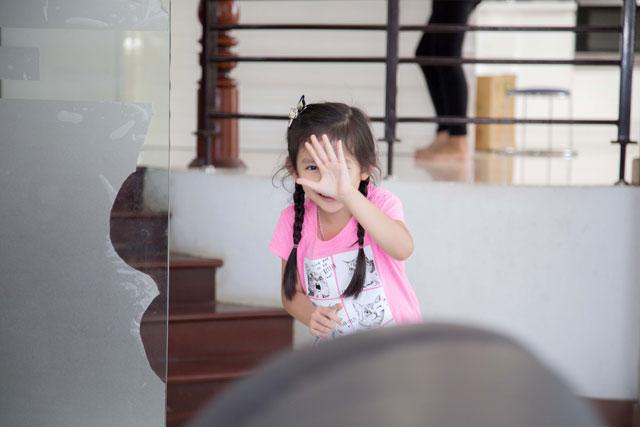 Dù không ở cùng bố nhưng Chiko chưa bao giờ thấy tủi thân và buồn chán.