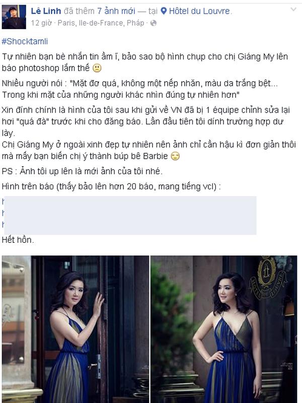 Nhiếp ảnh gia Lê Linh đã trần tình về bộ ảnh thời giang của Hoa hậu Đền Hùng.