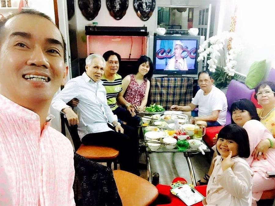 Gia đình Minh Thuận vẫn thường xuyên tụ họp trong mỗi dịp lễ Tết
