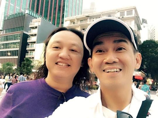 Minh Thuận và Nhật Hào ở TP HCM trong một lần Nhật Hào về nước. Ảnh: T.L