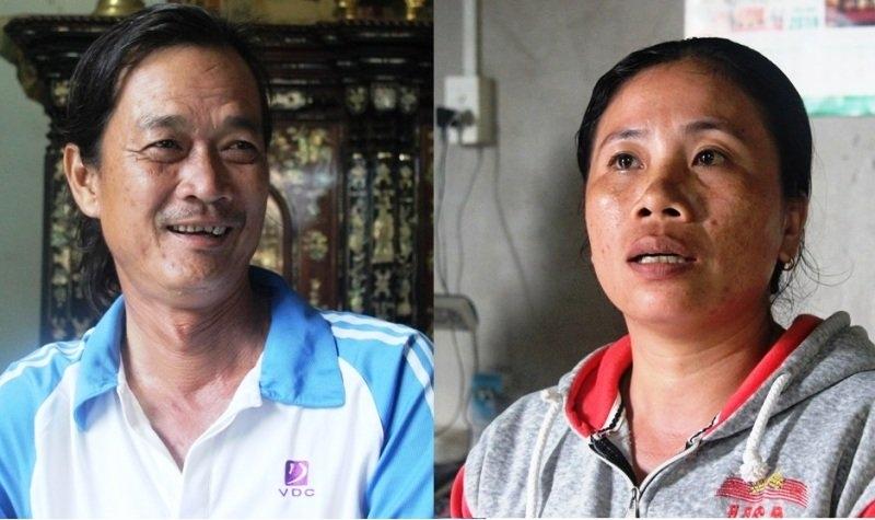 Ông Ngà và chị Thơm kể lại giây phút xe khách đổ đèo bị mất thắng