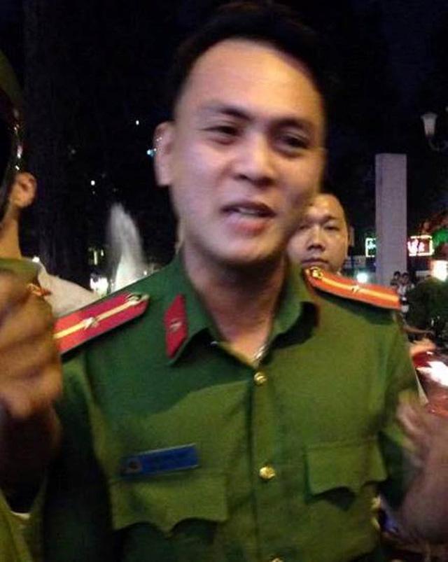 Thiếu úy Bùi Xuân Hải đã bị tạm đình chỉ công tác.