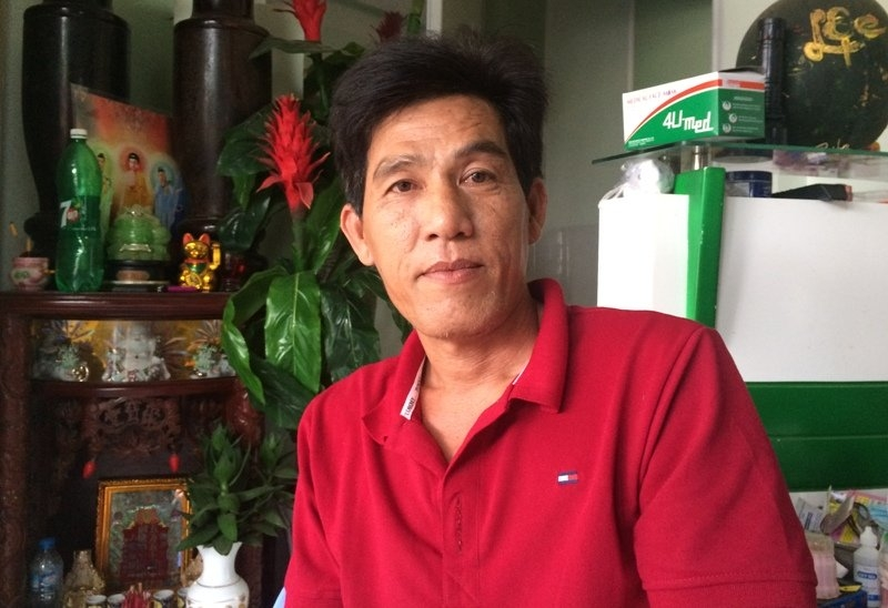 Chủ xe Nguyễn Văn Phong vẫn bị ám ảnh về sự cố