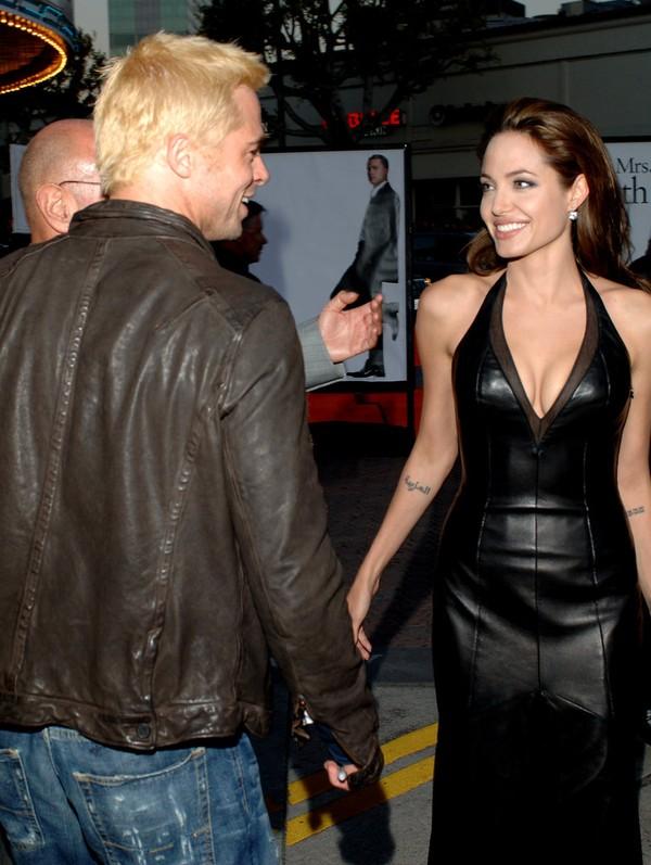 Tháng 6/2005, cặp sao dự buổi công chiếu phim Mr. & Mrs. Smith. Tuy vậy, cả hai đã không chụp cùng nhau một bức ảnh nào tại đây.