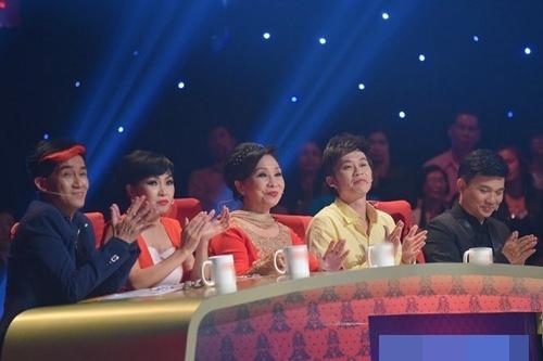 Minh Thuận và bạn tri kỷ Phương Thanh cùng làm giám khảo đặc biệt trong chương trình Tài tử tranh tài.