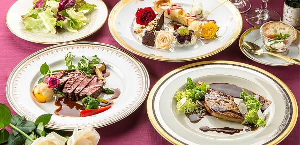Đồ ăn được nấu theo thực đơn đảm bảo dinh dưỡng, trình bày đẹp mắt.
