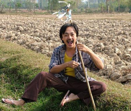 Cây hài Giang còi cũng gắn chặt với hình ảnh người nông dân
