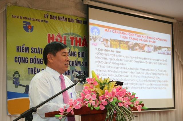 Phó Giám đốc Sở Y tế Đồng Nai, ông Huỳnh Cao Hải, người từng đứng đầu ngành DS-KHHGĐ địa phương này nói Đồng Nai sẽ có quy mô dân số đứng thứ 3 cả nước trong vòng 5 năm tới.