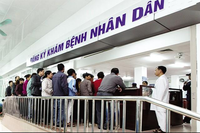 Bệnh viện 108 đã cải tiến quy trình khám, chữa bệnh để người dân được phục vụ tốt nhất. Ảnh: PV