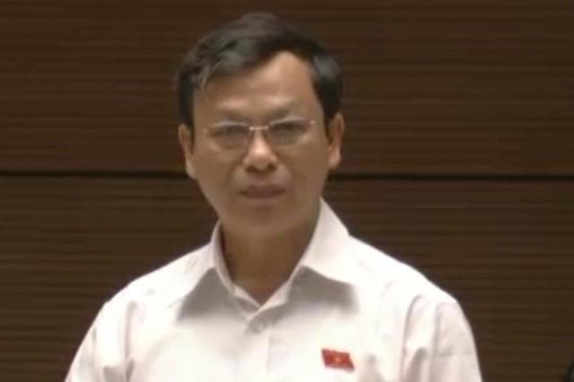 Đại biểu Bùi Mạnh Hùng, đoàn đại biểu Quốc hội tỉnh Bình Phước. Ảnh: C.Tâm