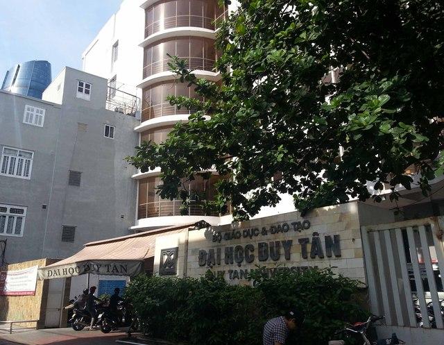 Trường Đại học Duy Tân (Đà Nẵng). Ảnh Đức Hoàng