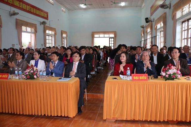 Các đại biểu tham dự lễ phát động hưởng ứng tháng hành động quốc gia về dân số