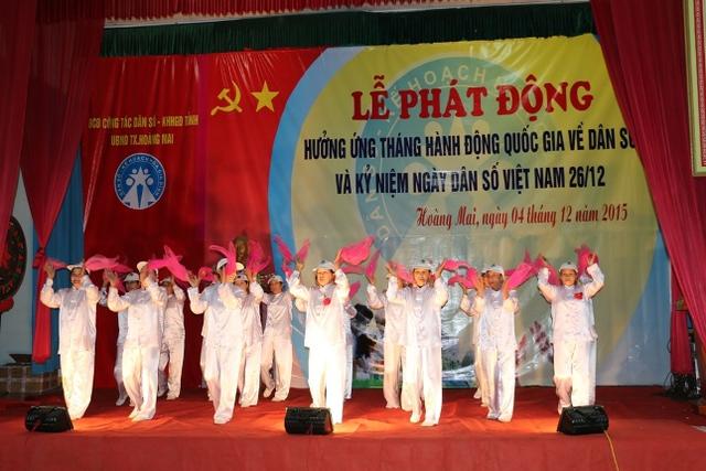 Tháng hành động quốc gia về dân số năm 2015 tại Nghệ An có chủ đề chăm sóc sức khỏe người cao tuổi