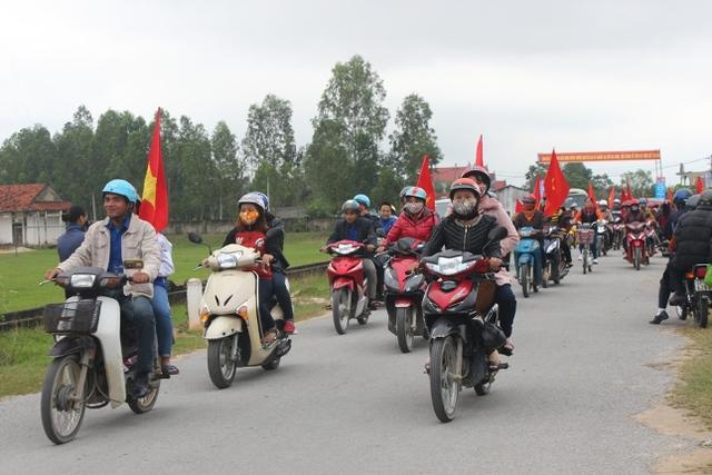 Diễu hành hưởng ứng Tháng hành động quốc gia về Dân số và Kỷ niệm ngày Dân số Việt Nam 26/12