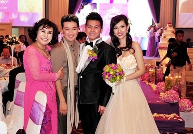 Đám cưới linh đình của Quỳnh Chi và thiếu gia Văn Chương