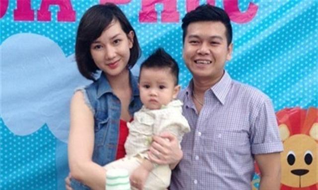 Gia đình Quỳnh Chi thuở còn mặn nồng