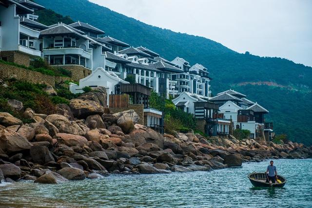 Khu nghỉ dưỡng InterContinental Danang Sun Peninsula Resort. Ảnh: Đ.H