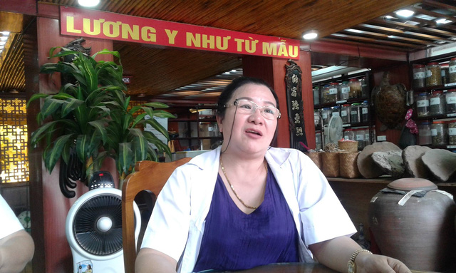 Lương y - BS Nguyễn Thị Phương. Ảnh: Nông Thuyết