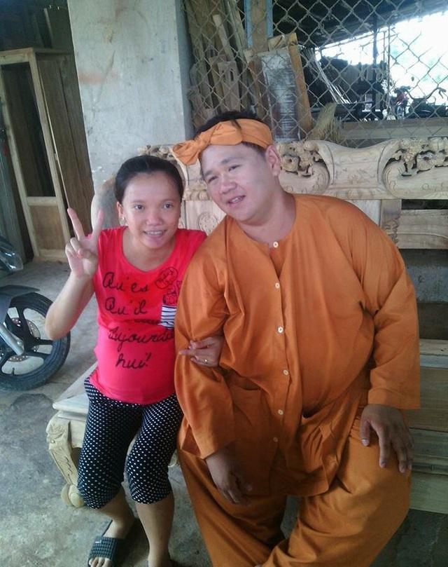 Tấm ảnh của chị Khiết Anh chụp ảnh cùng Minh Béo vào trưa 24/8/2015. Ảnh: Nhân vật cung cấp