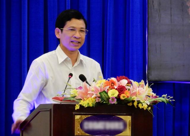 Giám đốc Sở VHTTDL Quảng Bình Hồ An Phong phát biểu tại hội nghị. Ảnh: Đức Hoàng