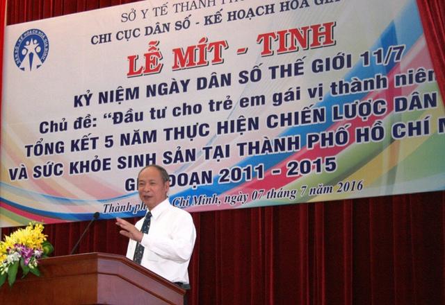 Phó Tổng cục trưởng phụ trách Tổng cục DS-KHHGĐ - ông Nguyễn Văn Tân, khẳng định đầu tư cho trẻ em gái vị thành niên sẽ mang lại lợi ích kép.