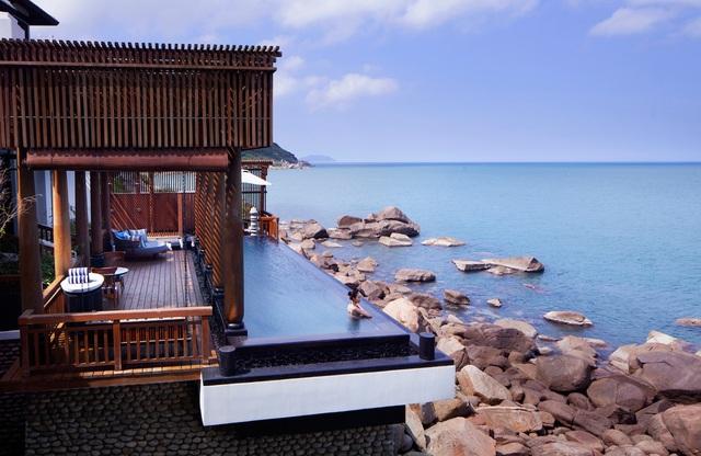 Một góc Khu nghỉ dưỡng InterContinental Danang Sun Peninsula Resort. Ảnh: Đ.H