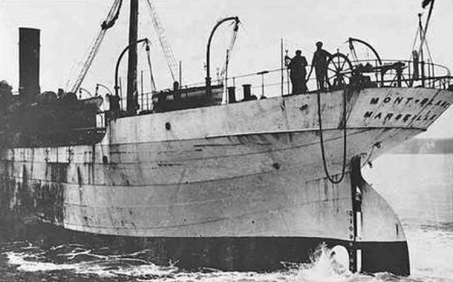 Tai nạn tàu SS Mont-Blanc được xem là vụ cháy nổ kinh hoàng nhất trong lịch sử hàng hải Pháp. Tàu phát nổ khi vận chuyển đạn và vũ khí từ cảng Halifax, Canada, ngày 6/12/1917. Nguyên nhân vụ nổ được xác định là sau khi cập cảng Halifax, tàu SS Mont-Blanc đã đi lạc hướng, đâm vào tàu SSImo gần đó. Vụ va chạm mạnh khiến vũ khí trên tàu đồng loạt phát nổ, cháy lớn trên diện rộng và phá hủy gần như toàn bộ thành phố cảng vốn nhỏ bé này.