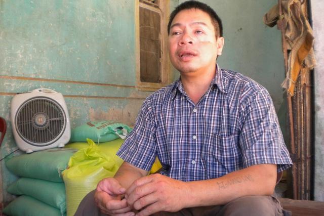 Cựu binh Nguyễn Văn Thống. Ảnh:Đ.H