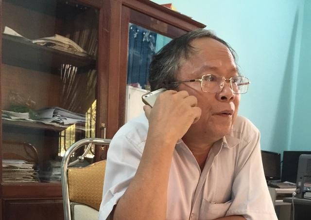 Ông Hoàng Kim Thận – Giám đốc Công ty CP Đầu tư và phát triển cơ sở hạ tầng Quảng Trị.