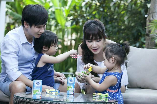 Gia đình ca sĩ Lý Hải (ảnh nhân vật cung cấp).