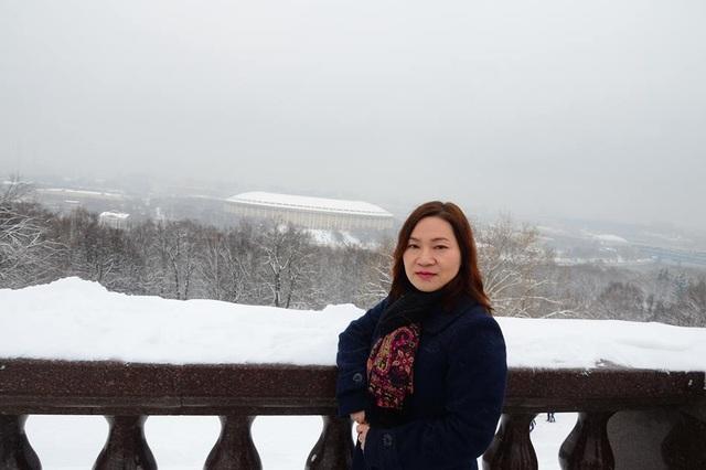 Nhà báo Kim Ngân (ảnh nhân vật cung cấp).