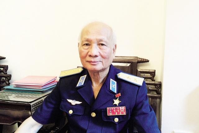 Trung tướng, Anh hùng Lực lượng vũ trang nhân dân Nguyễn Văn Phiệt. Ảnh: Cao Tuân