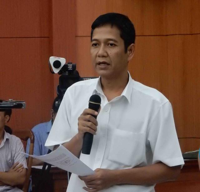 Ông A Viết Sơn, Phó Chủ tịch UBND huyện Nam Giang. Ảnh: Đức Hoàng