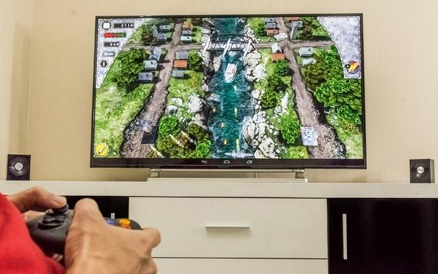Toshiba L55 Series hỗ trợ tốt các game thông dụng.
