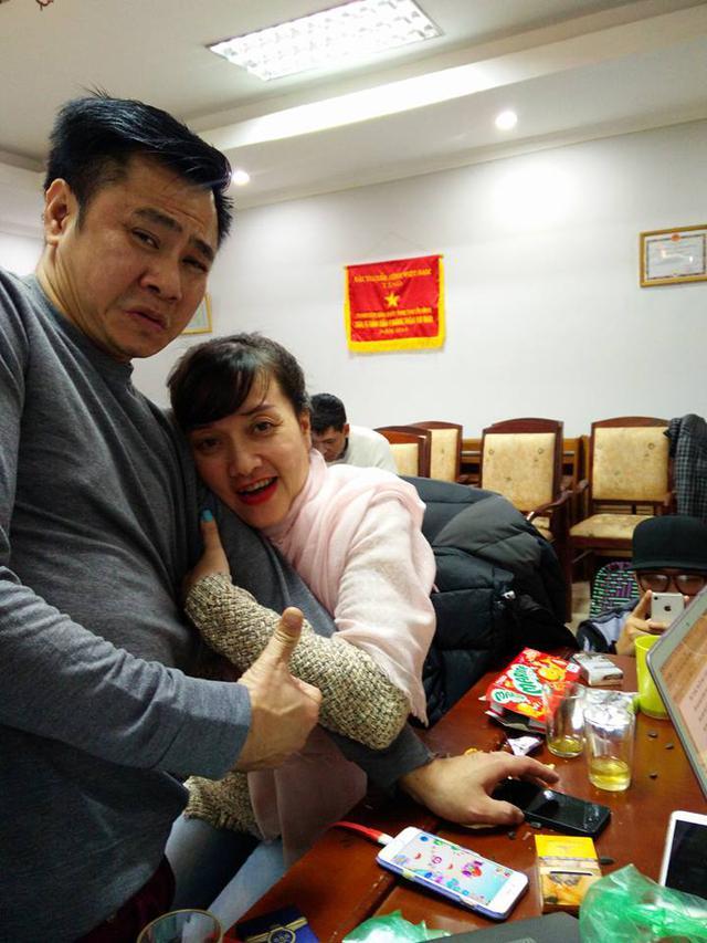 Tự Long và Vân Dung tỏ ra ăn ý với nhiều tình tiết trong chương trình nên vô cùng thoải mái khi kết thúc phần của mình.