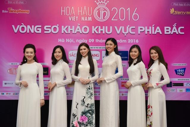 Ngô Thanh Thanh Tú nổi bật bên các thí sinh HHVN 2016