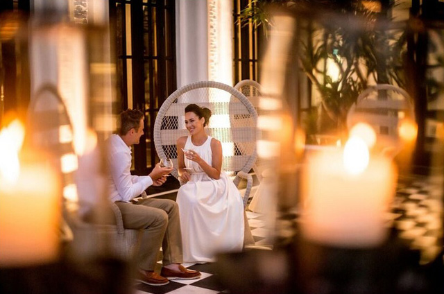 Khung cảnh lãng mạn, quyến rũ tại nhà hàng La Maison 1888.