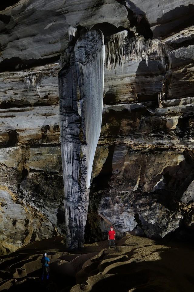 Hang Tiên 2 dài 2.519m. Ảnh: Đoàn thám hiểm cung cấp