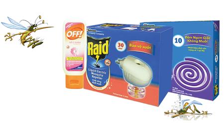Xóa sạch côn trùng trong nhà với Raid 2