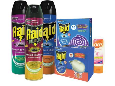 Xóa sạch côn trùng trong nhà với Raid 4