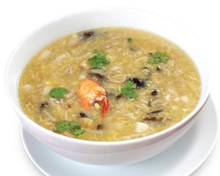 Cách làm súp nấm cua 1