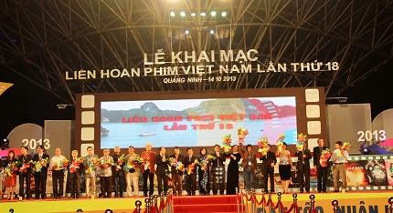Quảng Ninh: Khai mạc Liên hoan phim Việt Nam lần thứ XVIII 4