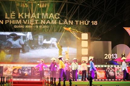 Quảng Ninh: Khai mạc Liên hoan phim Việt Nam lần thứ XVIII 3