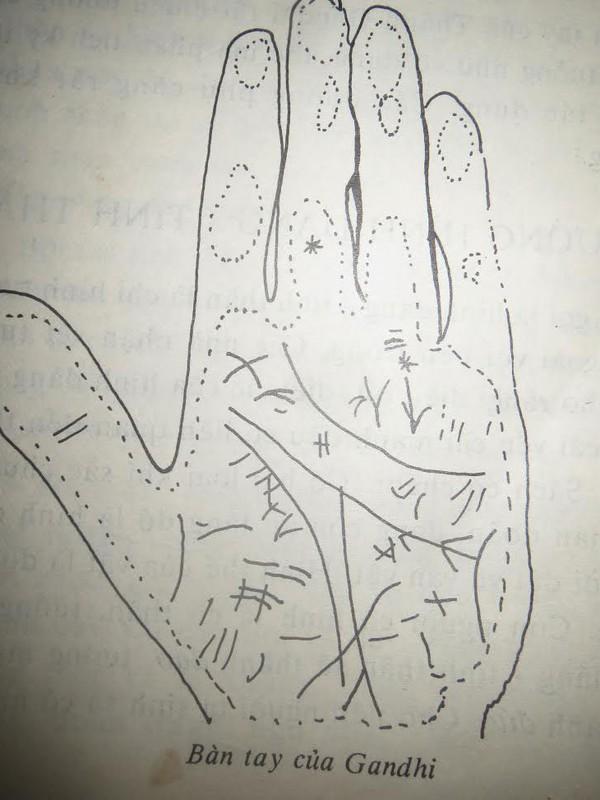 Tự xem số phận qua bàn tay: Đọc một bàn tay của bậc vĩ đại