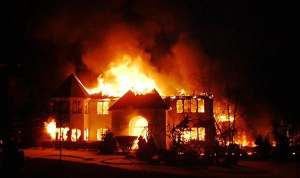 Giấc chiêm bao cháy nhà may mắn