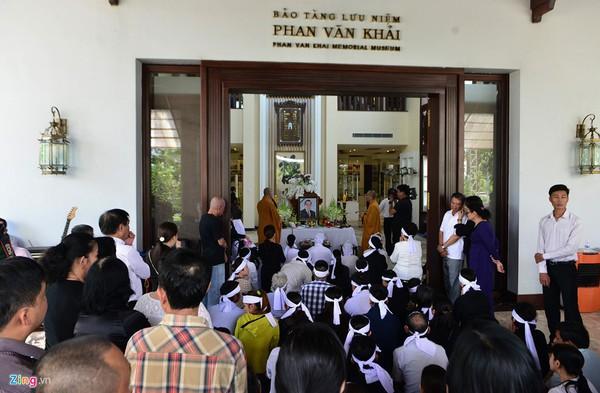 Hình ảnh tang lễ cố Thủ tướng Phan Văn Khải tại tư gia