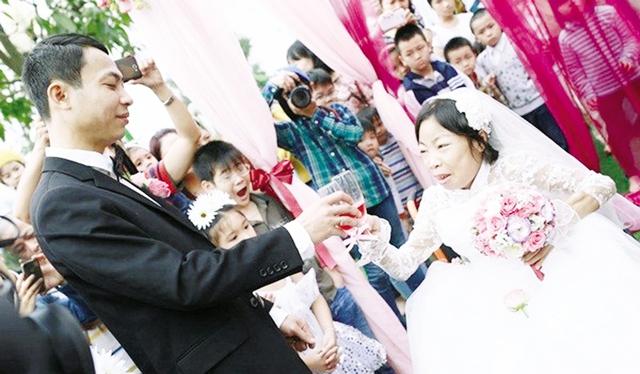 Chuyện tình như cổ tích giữa chị Nguyễn Châu Loan và anh Nguyễn Văn Vượng kết thúc ngắn ngủi sau khi anh Vượng bị tử nạn.  Ảnh: P.B