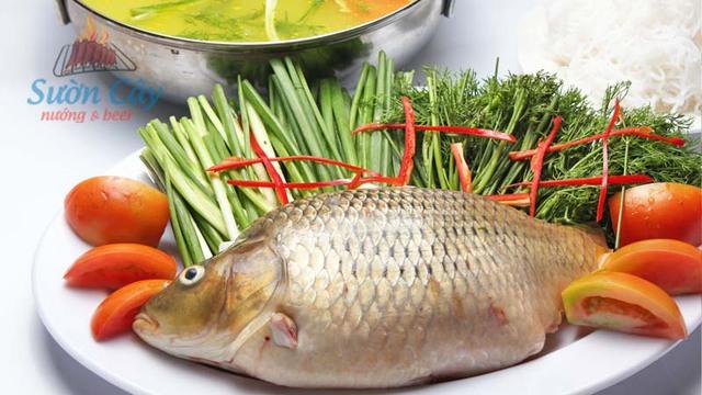 cá chép hấp