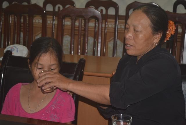 Bà bé xin gửi lời cảm ơn tới tất cả những tấm lòng hảo tâm đã giúp đỡ gia đình bà